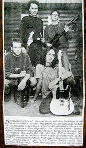 Ulrich Sterns erste Band
