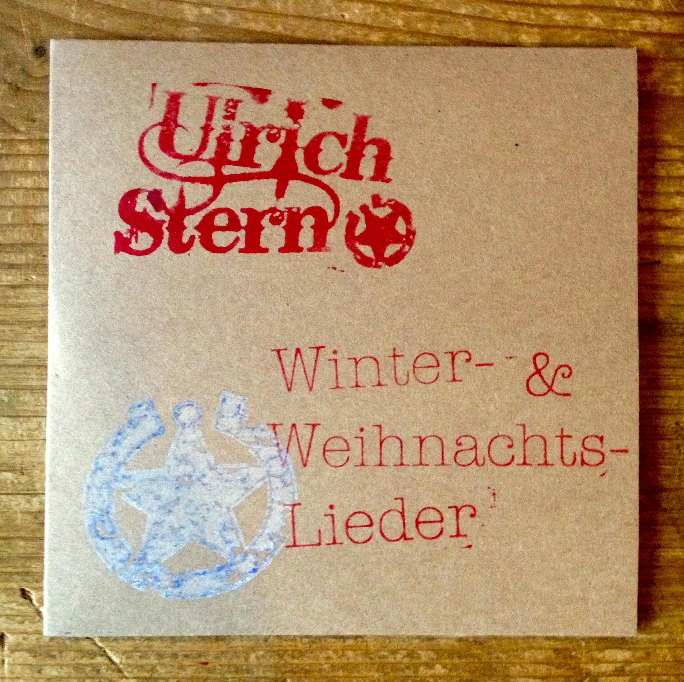 Weihnachtslieder Cd.Foto Cd Hülle Mit Stempel Winter Und Weihnachtslieder Cd Ulrich
